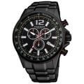 Akribos XXIV Men's Water-resistant Swiss Quartz Chronograph Tachymeter Stainless Steel Bracelet Watch