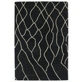 Hand-tufted Utopia Peaks Charcoal Wool Rug (5' x 8')