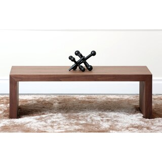 Abbyson Living Allison Walnut Small Coffee Table