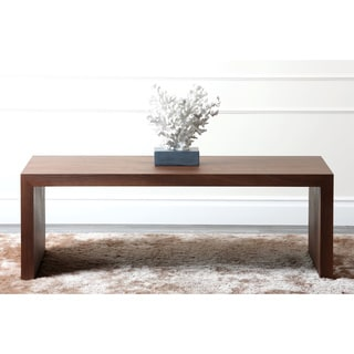 Abbyson Living Allison Walnut Medium Coffee Table