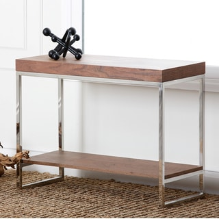 Abbyson Living Verona Walnut Console Table