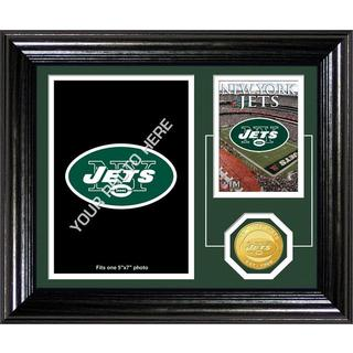 New York Jets Framed Memories Desktop Photo