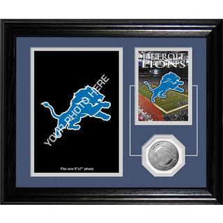 Detroit Lions Framed Memories Desktop Photo