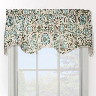 Paisley Prism Duchess Filler Valance