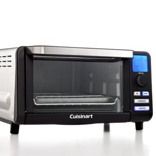 Cuisinart TOB-100BW Black Matte Compact Digital Toaster Oven and Broiler