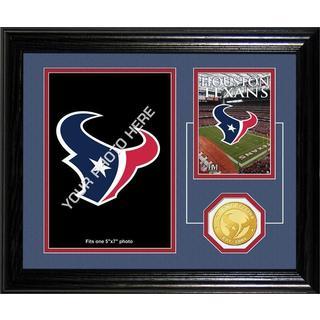 Houston Texans Framed Memories Desktop Photo