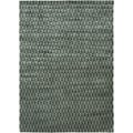 Handcrafted and Sheared 'Illusion' Tonal Grey Rectangular Area Rug (5'0 x 7'9)