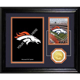 Denver Broncos Framed Memories Desktop Photo