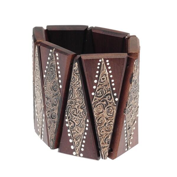 Eco Friendly Wood Bracelet (India)