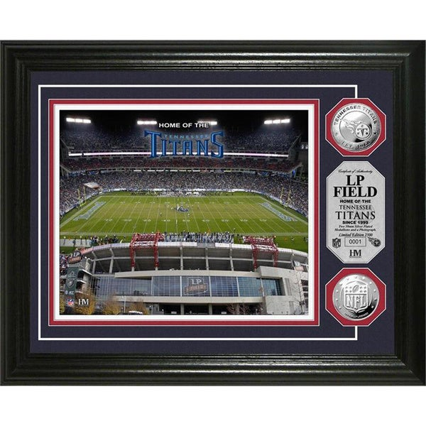 Tennessee Titans LP Field Silver Coin Photomint