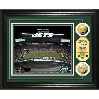 New York Jets MetLife Stadium Gold Coin Photo Mint