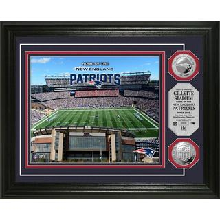 New England Patriots Gillette Stadium Silver Coin Photo Mint