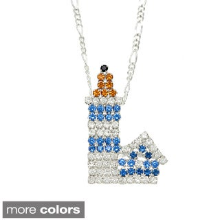 Crystal Lighthouse Necklace