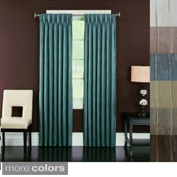 Brielle 'Spring Street' Pinch Pleated Lined Curtain Panel