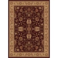 New Tradition Brown/ Ivory Area Rug (7'10 x 10'2)