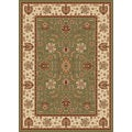 New Tradition Green/ Ivory Area Rug (5'2 x 7'2)