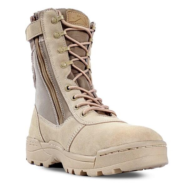 Ridge Outdoors Dura-Max Men's Side-zip Desert Boots