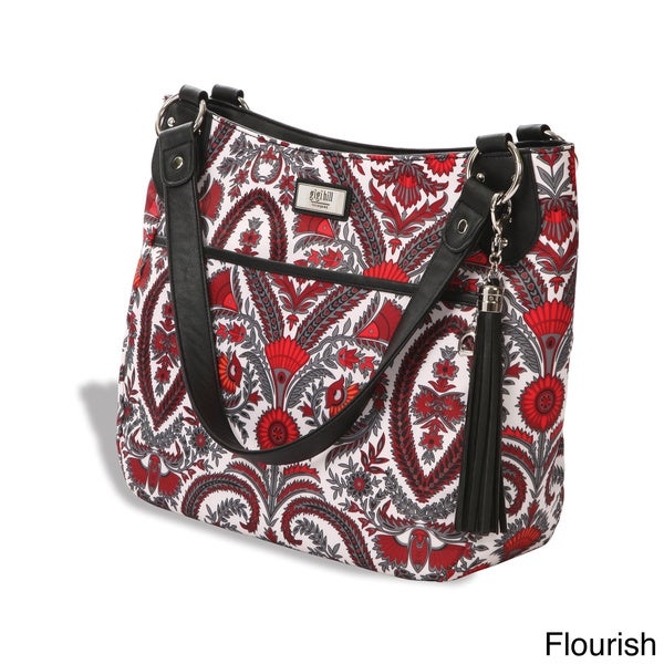 Gigi Hill 'The Carolyn' Patterned Tablet Handbag