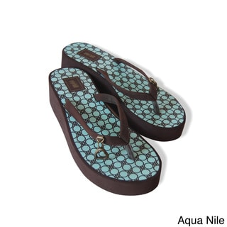 Gigi Hill 'The Coco' Cushioned Flip Flops