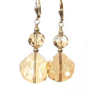 Palmtree Gems 'Kristen' Dangle Earrings