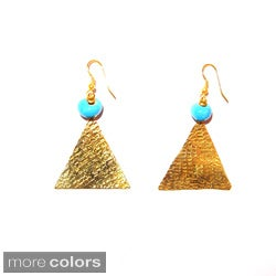 Triangle Drop Earring (Kenya)
