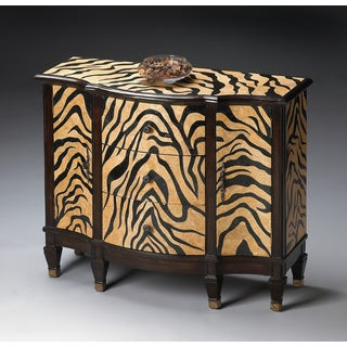 Jungle Stripe Buffet/Console Chest