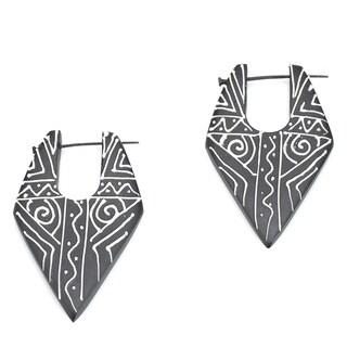 Eco-friendly Wood Earrings (India)