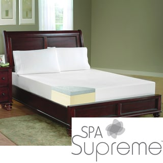 Spa Supreme 8-Inch Twin-Size Gel Memory Foam Mattress