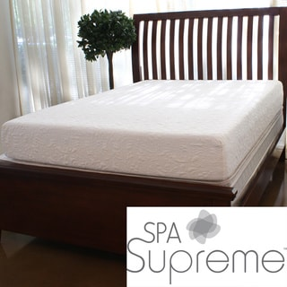 Spa Supreme 10-inch King-size Gel Memory Foam Mattress
