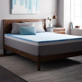 Select Luxury Ultimate Comfort 4-inch Combo Gel Memory Foam Medium Firm Topper Pad