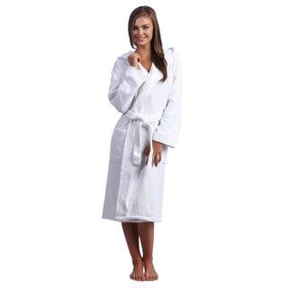 Hooded Kimono Style Turkish Terry Bath Robe