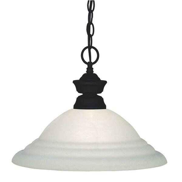 Pendant Lights White Swirl 1-light Pendant