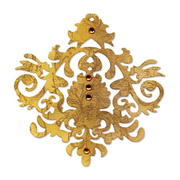 Sizzix Sizzlits Baroque Ornament Die