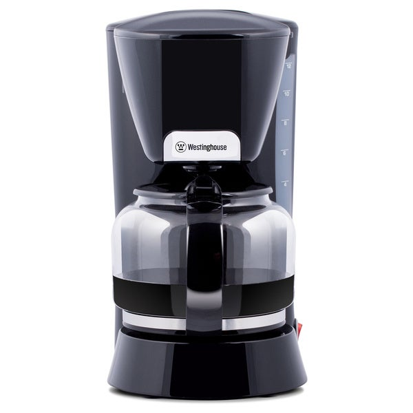 Westinghouse Black 12-cup Coffee Maker