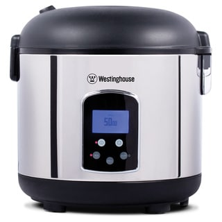 Westinghouse 20-cup Stainless Steel Rice Cooker