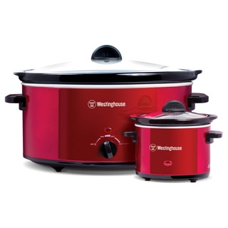 Westinghouse 8-quart Slow Cooker and Sauce Warmer