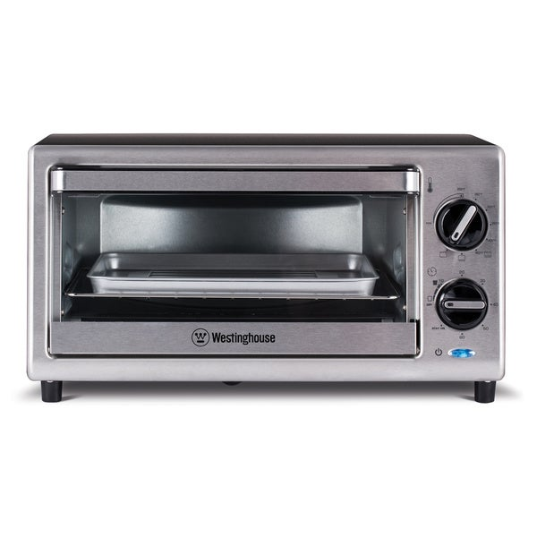 Countertop Convection Oven Australia : Westinghouse 4-Slice Toaster Oven (11681158 WTO2010S W Appliance ...