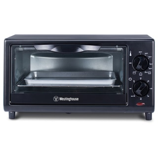 Westinghouse 4-slice Black Toaster Oven
