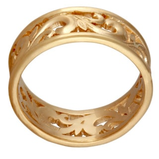 14k Yellow Gold Women's Comfort Fit Wedding Band