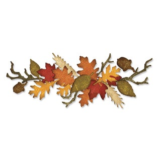 Sizzix Sizzlits Decorative Strip Autumn Gatherings Die