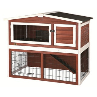Trixie Peaked Roof Rabbit Hutch