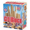 Citiblocs 50-Piece Natural Construction Set