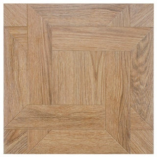 SomerTile 'Boss Natural' 17.75-inch Ceramic Floor and Wall Tile (Case of 5)