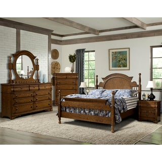 Vaughan Hunter's Ridge 5 Piece Queen or King Poster Bedroom Set
