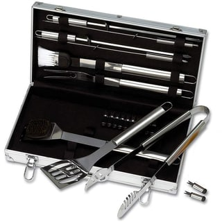 Chefmaster 22-piece Stainless Steel Barbeque Tool Set