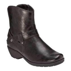 Women's A2 by Aerosoles Stint Woman Black Faux Leather