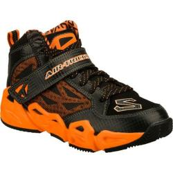 Boys' Skechers Air-Mazing Kid Hoopz Black/Orange