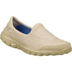 Women's Skechers GOwalk 2 Linear Natural
