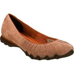Women's Skechers Relaxed Fit Bikers Melodic Natural/Natural