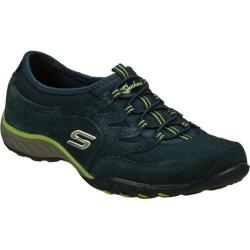 Women's Skechers Relaxed Fit Breathe Easy Fair Game Navy/Navy
